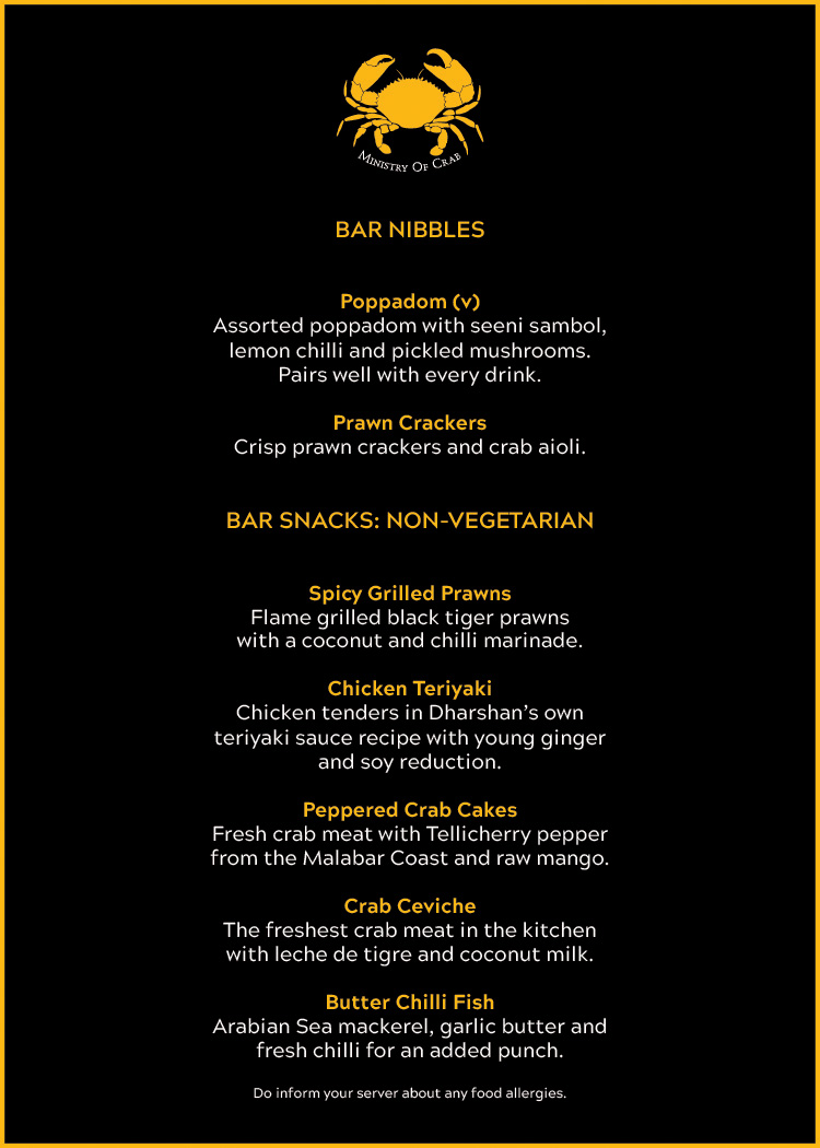 moc bar snacks menu AW WITHOUT PRICE